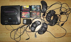 Комплект Sega Mega Drive 2
