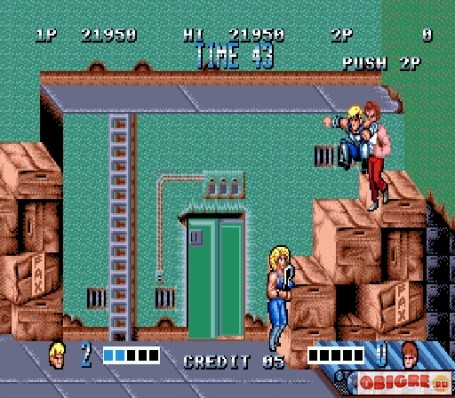 Double Dragon (Братья Драконы)